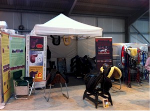 saddle exchange show stand