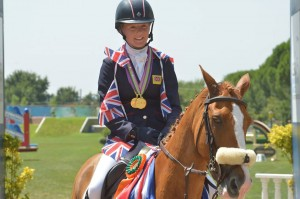European Pony Eventing Champion 2013