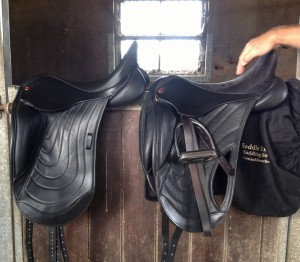 Dressage saddles for cobs, native Ponies & Sports Horses.