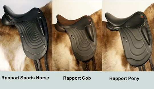 Dressage saddles for ponies, cobs & Wide Horse