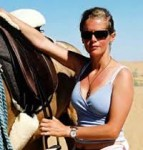 Alexandra Tolstoy & Saddles for Akhal Teke