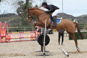 Callum and Prince in their custom Comfort Elite Puissance Jumping Saddle