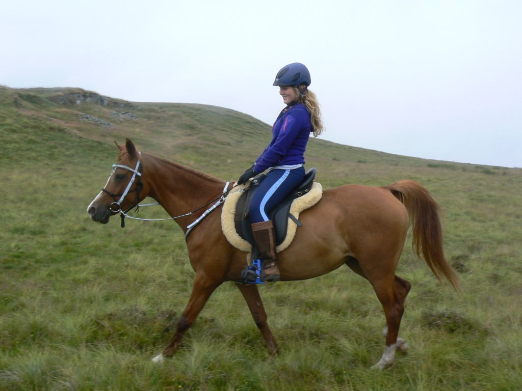 Morven Walker, Jazz and a saddle for a Young Endurance Rider