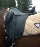 Comfort Elite Cadence Mono-Flap Dressage Saddle, Flatter Options