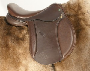 A Native Pony Saddle Company Mountain & Moorland Saddle made post 2007.