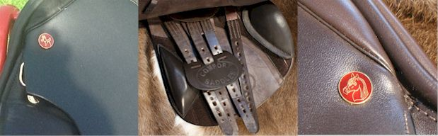 Your Comfort Saddle Should have a Red Nailhead, either with a horses head or the Comfort Elite Logo