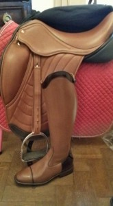 """WSe can even make a saddle to match your favorite boots as we did for Kylie Hardington and Bean"""