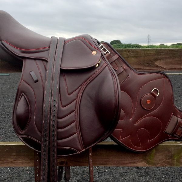 Comfort Elite Elevation Mono-Flap Jump Saddle