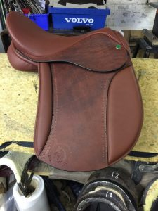 Special order, custom colour Pony Club saddle