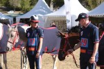 British Endurance Team Members, David Yeoman & Catriona Moon show off their Comfort Endurance Bridles at the European Championship In Florac 2011. Both Leila & Husar are wearing Halter Bridles.