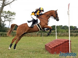 Tara & Billy, Pony Eventing in their Pony Saddle Company Tavy, sports pony fit <a class=