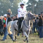 British Endurance Team Member, Catriona Moon & Leila Competing at The World Endurance Championship 2012 wearing their Ride n Tie