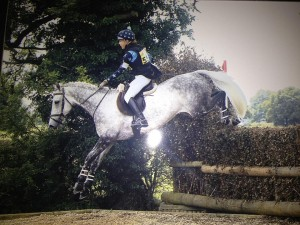 Hazel Bailey and Bam BamCompeting in Their Elevation Jumping Sadle