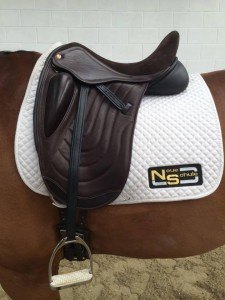 The New Yasmin Ingham Dressage Saddle