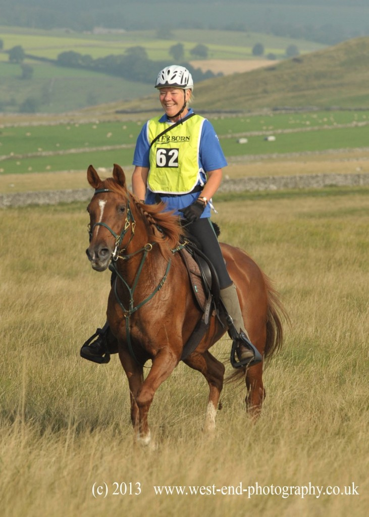 Kate Curry, Doyenne and a saddle for an Endurance Horse